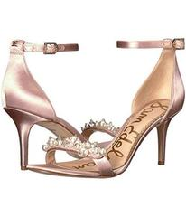 Sam Edelman Shell Pink Crystal Satin
