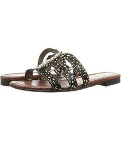 Sam Edelman Black/Black/Ivory Dotted Brahma Hair