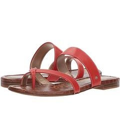 Sam Edelman Candy Red Vaquero Saddle Leather