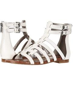Sam Edelman Bright White Vaquero Saddle Leather