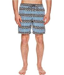 Mr. Swim Zig Zag Printed Dale Swim Trunks