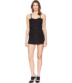 RED VALENTINO Stretch Double Cotton Cady Romper