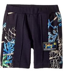 Versace Shorts w/ Sea Shore Design on Sides (Toddl