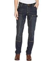 Carhartt Slim Fit Double-Front Denim Dungaree Jean