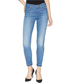 7 For All Mankind The Ankle Skinny w/ Extreme Fray