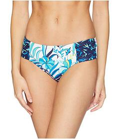 Tommy Bahama Tropical High-Waist Shirred Hipster