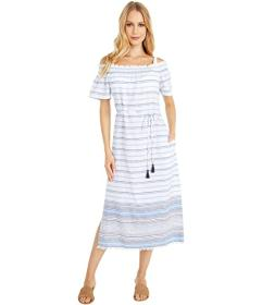 Tommy Bahama Linen Cotton Midi Dress Cover-Up