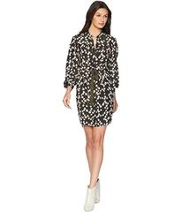 Juicy Couture Soft Woven Abbey Floral Silk Shirtdr