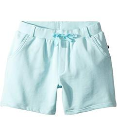 Toobydoo Bright Blue French Terry Camp Shorts (Tod