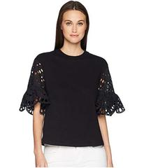 See by Chloe Broderie Anglaise T-Shirt