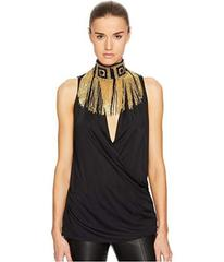 Versace Collection Donna Jersey Sleeveless Top