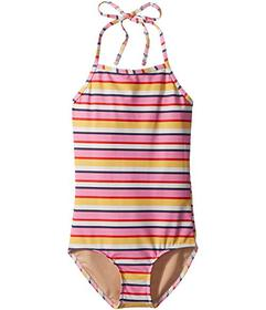 Toobydoo Sunshine Stripe One-Piece Swimsuit (Infan