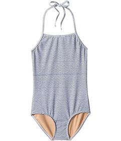 Toobydoo Sweet Nautical Stripe One-Piece Swimsuit
