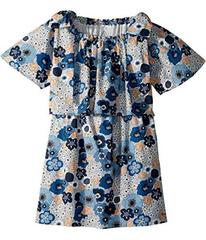 Chloe Mini Me Floral Print Knots Details (Big Kids