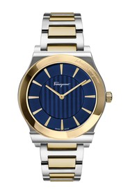 Salvatore Ferragamo Men's Two-Tone Bracelet Watch