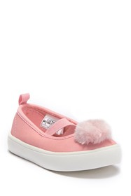 Carter's Anessa Faux Fur Pompom Mary Jane Flat (To