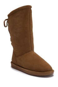 BEARPAW Phylly Ghillie Lace Boot with Genuine Shee