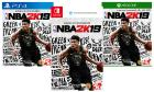 NBA 2K19 for PlayStation 4, Xbox One, or Nintendo