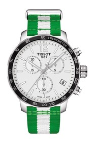 Tissot Men's NBA Boston Celtics Quickster Swiss Qu