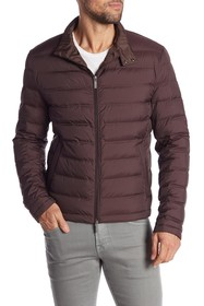 BOSS Daniell Water Repellent Padded Down Jacket