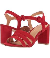 Chinese Laundry Red Kid Suede