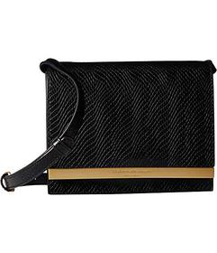 Donna Karan Mally Flap Crossbody Snake