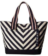 Tommy Hilfiger Classic Tommy Chevron Canvas Tote