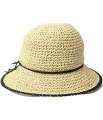 LAUREN Ralph Lauren Packable Crochet Tipped Hat