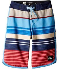 Quiksilver Eye Scallop Boardshorts (Big Kids)