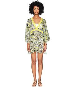 M Missoni Mermaid Print Collar Caftan
