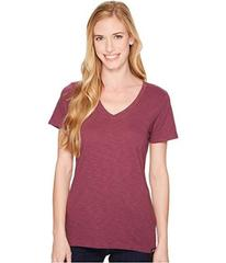 The North Face Short Sleeve Sand Scape V-Neck Tee