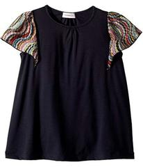 Missoni Jersey Dress w/ Lace Trim (Toddler/Little