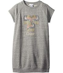 Chloe Mini Me Faded and Pelicans Short Sleeve Dres