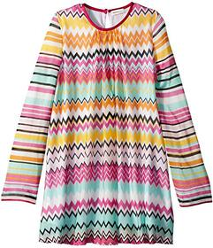 Missoni Knit Zigzag Dress (Big Kids)
