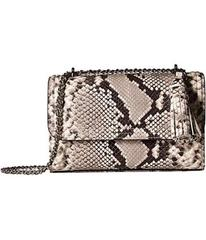 Tory Burch Fleming Embossed Small Convertible Shou