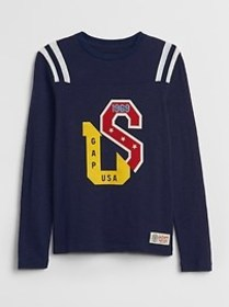 Graphic Logo Pullover Sweater