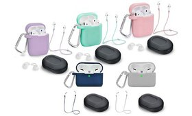AirPod Case Cover and Accessory Pack (5-Piece) (Ai