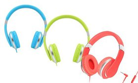 Teachers Approved I20-R Kids' Over-Ear Wired Headp