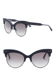 Bottega Veneta 52mm Cat Eye Sunglasses