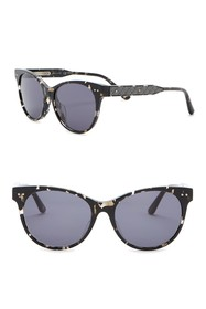 Bottega Veneta 52mm Rounded Cat Eye Sunglasses
