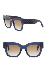 Bottega Veneta 49mm Retro Sunglasses
