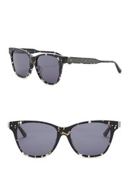 Bottega Veneta 53mm Squared Cat Eye Sunglasses