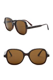Bottega Veneta 51mm Butterfly Sunglasses