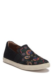 Rockport Cobby Hill Willa Gore Suede Slip-On Sneak