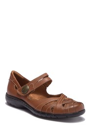 Rockport Cobby Hill Parker Leather Flat - Wide Wid