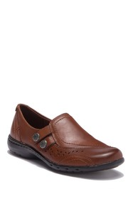 Rockport Cobby Hill Penny Leather Loafer - Wide Wi