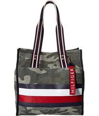 Tommy Hilfiger Carmel North/South Camo Canvas Stri