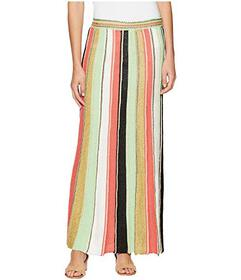 M Missoni Vertical Stripe Crochet Skirt
