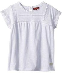 7 For All Mankind Lace Tee (Little Kids)