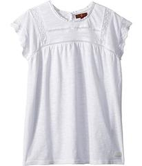 7 For All Mankind Lace Tee (Big Kids)